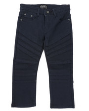 Parish - Stretch Color Twill Moto Pants (4-7)-2423779