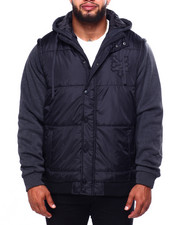 Big & Tall Faves - Jacket W/Hoody (B&T)-2424019