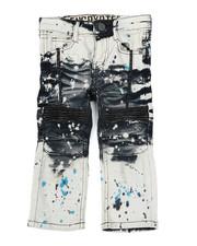 Sizes 2T-4T - Toddler - Moto Denim Jeans (2T-4T)-2423636