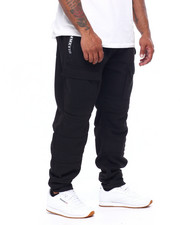 Joggers - Quilted Fleece Jogger w/ Zipper Trim (B&T)-2423171