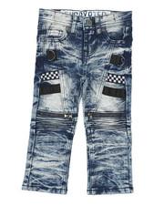 Sizes 2T-4T - Toddler - Moto Denim Jeans (2T-4T)-2423610