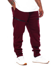 Joggers - Fleece Jogger w/ Zipper Trim (B&T)-2423146