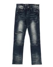 Sizes 8-20 - Big Kids - Skinny Fit Moto Denim Jeans (8-18)-2423736
