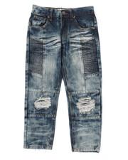 Arcade Styles - Moto Denim Jeans (4-7)-2423724