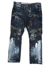 Sizes 4-7x - Kids - Moto Denim Jeans (4-7)-2423665