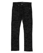 Sizes 8-20 - Big Kids - Moto Denim Jeans (8-18)-2423797