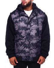 Men - Jacket W/Hoody (B&T)-2423982