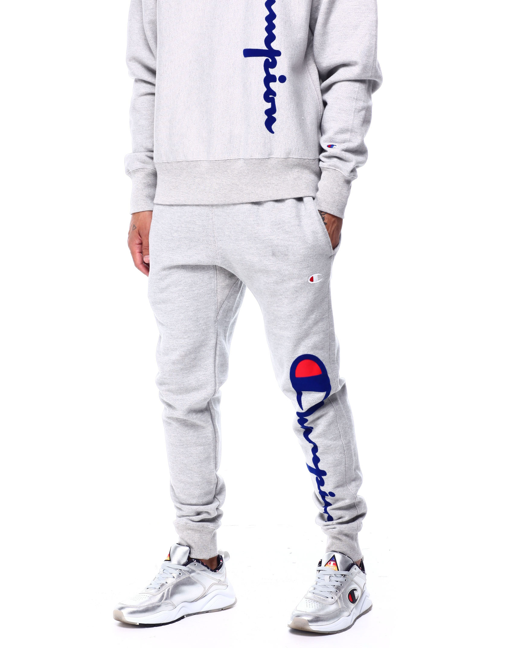 Buy OVERSIZED FLOCK JOGGER Men's Jeans & Pants from Champion