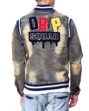 Denim Jackets - Drip Squad Jacket-2424327