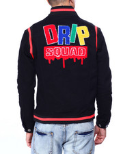 Denim Jackets - Drip Squad Jacket-2424346