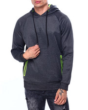 Buyers Picks - Neon Detail Popover Hoodie-2424334