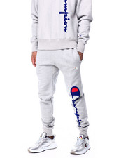 Champion - OVERSIZED FLOCK JOGGER-2424164