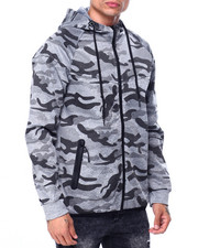 Buyers Picks - Camo Zip up Hoodie-2424182