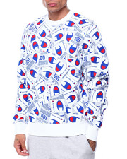 Champion - ALL OVER TAG CREWNECK SWEATSHIRT-2424073