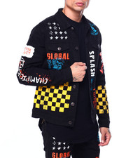 Copper Rivet - racing print jacket-2424175