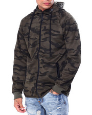 Buyers Picks - Camo Zip up Hoodie-2424251