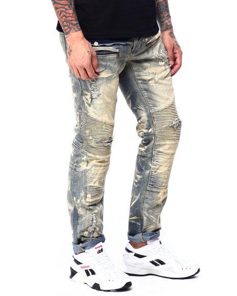 Makobi - Moto Biker Jeans