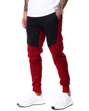 Buyers Picks - contrast Color Jogger w Zipper Accent-2424353