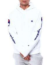 Champion - OVERSIZED FLOCK SCRIPT HOODY-2424112