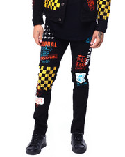 Copper Rivet - Racing Print Jean-2424218