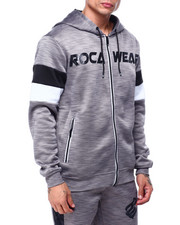 RIVALS TECH FLEECE FULL -ZIP HOODY