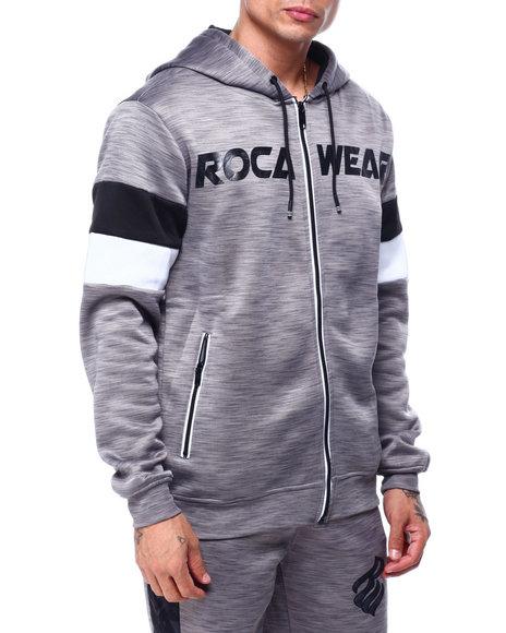 Rocawear - RIVALS TECH FLEECE FULL -ZIP HOODY