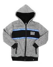 Hoodies - Sherpa Lining Fleece Hoodie (8-18)-2423862