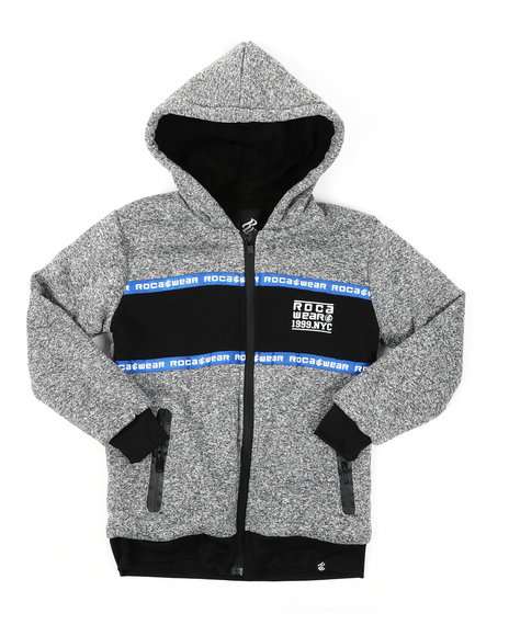 Rocawear - Sherpa Lining Fleece Hoodie (8-18)