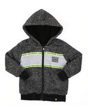 Hoodies - Sherpa Lining Fleece Hoodie (4-7)-2424897