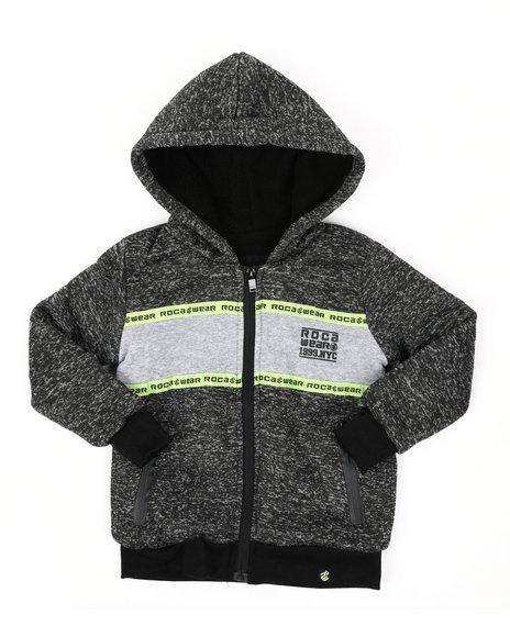Rocawear - Sherpa Lining Fleece Hoodie (4-7)