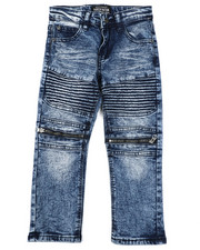 Boys - Moto Denim Jeans (4-7)-2424841