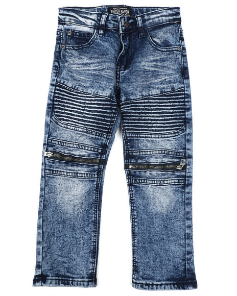 Parish - Moto Denim Jeans (4-7)