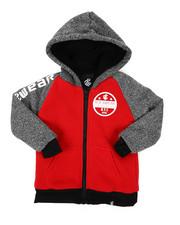 Hoodies - Sherpa Lining Fleece Hoodie (4-7)-2424931