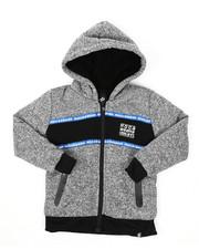 Hoodies - Sherpa Lining Fleece Hoodie (4-7)-2424907