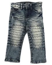 Sizes 2T-4T - Toddler - Moto Denim Jeans (2T-4T)-2424202