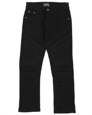 Bottoms - Stretch Color Twill Moto Pants (8-18)-2424885