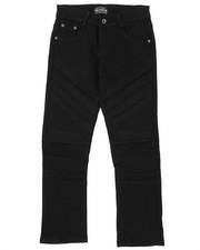 Sizes 8-20 - Big Kids - Stretch Color Twill Moto Pants (8-18)-2424885