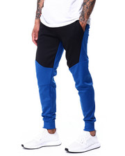 Buyers Picks - contrast Color Jogger w Zipper Accent-2424310