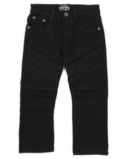 Parish - Stretch Color Twill Moto Pants (4-7)-2424875