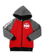 Hoodies - Sherpa Lining Fleece Hoodie (8-20)-2424941
