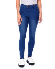 Pants - High Waist Stretch Twill Skinny-2422520