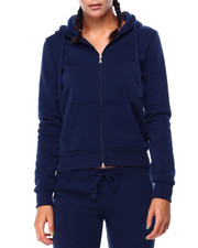 Women - Fleece Full Zip Hoodie-2423670