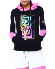 Hoodies - Lola Bunny Sport Mesh Pullover Hoodie-2423599
