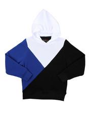 Hoodies - Cut & Sew Color Block Pullover Hoodie (8-20)-2425593