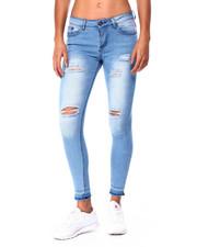 Jeans - Destructed Raw Edge Skinny-2425491