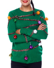 Ugly Christmas Shop - Christmas Ornament L/S Sweater-2425331