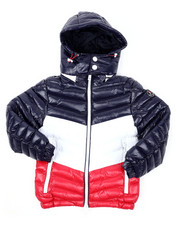 Outerwear - Tri Color Bubble W/Hood (4-20)-2422269