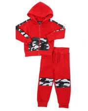 Arcade Styles - Hoodie & Sweatpants Set (2T-4T)-2423353