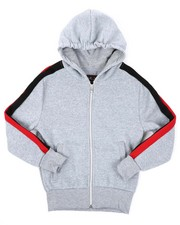 Hoodies - Full Zip Fleece Hoodie (8-20)-2425016
