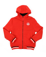 Hoodies - Fleece Lined Full Zip Hoodie (8-20)-2425647